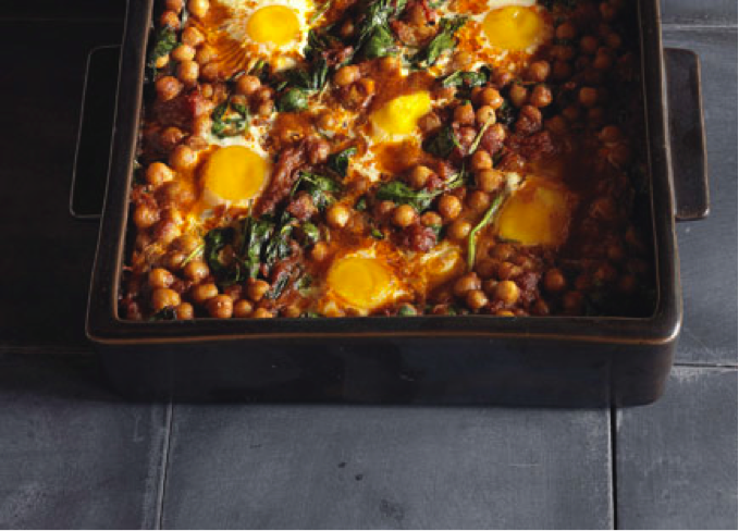 baked-edd-chickpea-spinach