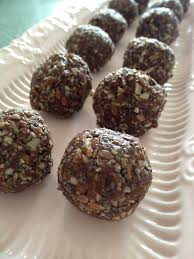 RAW PECAN BLISS BALLS