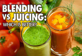 What's the difference between juicing and blending - blending vs juicing
