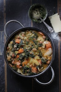 Minestrone Soup of the Moment