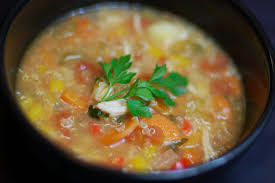Chicken, Quinoa & Vegetable Soup
