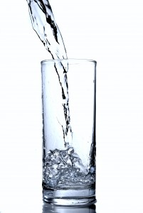 How to Increase Alkalinity in Body - water in glass
