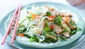 lime chicken with cellophane noodles
