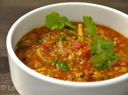red dahl curry