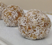 Lime and Date Balls