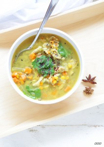 Asian Healing Chicken Soup