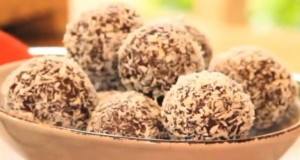 Chewy Almond Truffles Lola Berry Mornington naturopath