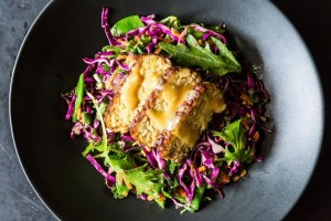 Tempeh Salad With Miso Mustard Dressing