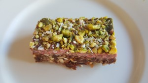 No Bake Snack Bar