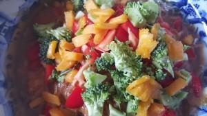 Sweet & Sour Kelp Noodle Salad