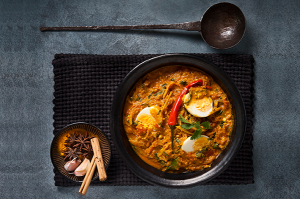 Malaysian Egg Curry