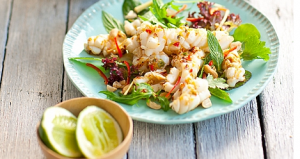 Thai Calamari Salad