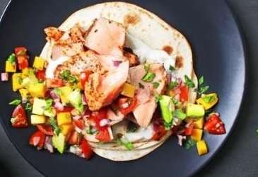 Sensational Salmon Tacos