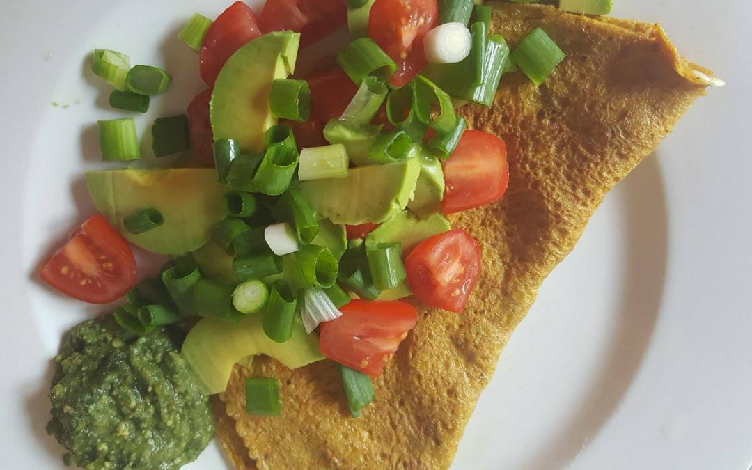 Turmeric Omelette
